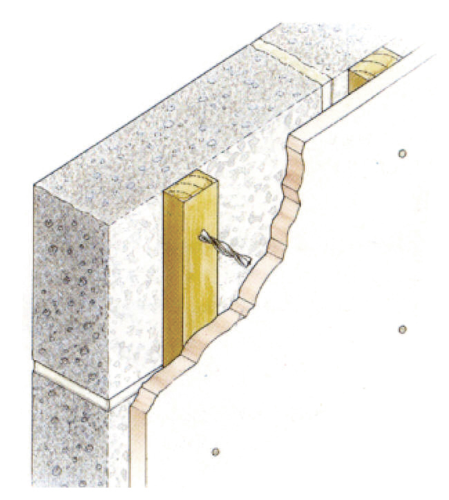 Turbofast Fixings For Securing Timber Or Mdf To Bricks And